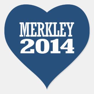 MERKLEY 2014 STICKER