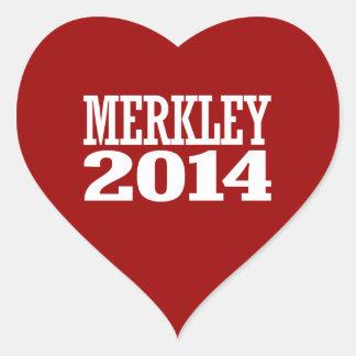 MERKLEY 2014 STICKERS
