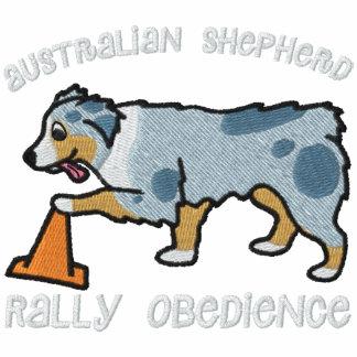Merle Australian Shepherd Rally Obedience