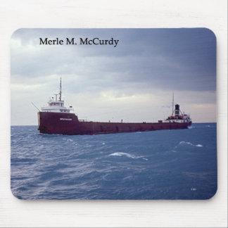 Merle M. McCurdy mousepad