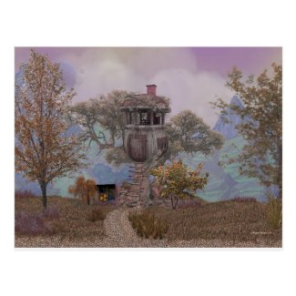 Merle's Treehouse Postcard