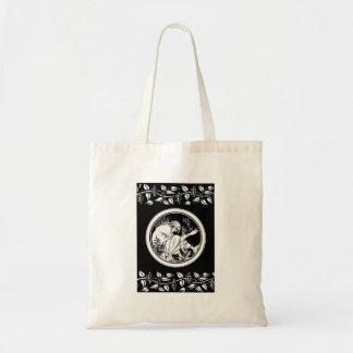 Merlin Art Nouveau fantasy Tote Bag
