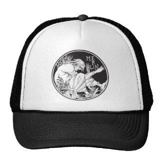 Merlin Aubrey Beardsley Trucker Hat