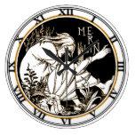 Merlin by Aubrey Beardsley 4  - Clock
