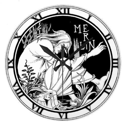 MERLIN de Aubrey Beardsley - reloj
