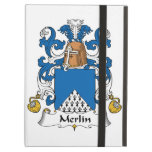 Merlin Family Crest iPad Cover