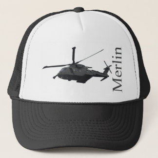 Merlin Helicopter Baseball Hat