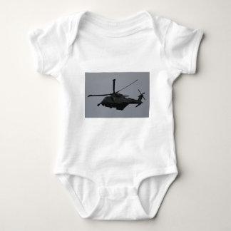 Merlin Helicopter from RAF Benson, United Kingdom Baby Bodysuit