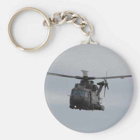 Merlin Helicopter, RAF Benson Keychain
