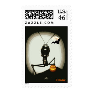 Merlin Mantid's Halloween Stamp
