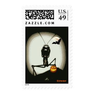 Merlin Mantid's Halloween Stamps