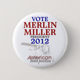 Merlin Miller 2012 Button