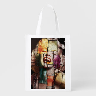 Merlin Monroe Pop Art Reusable Bag