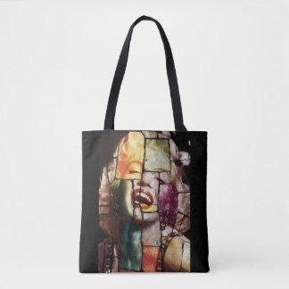 Merlin Monroe Pop Art Tote Bag