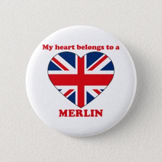 Merlin Pinback Button