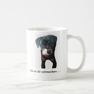 Merlin to nose lick cup, leave it to you schmec… coffee mug