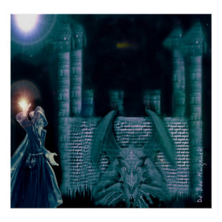 MERLIN y el dragón Poster