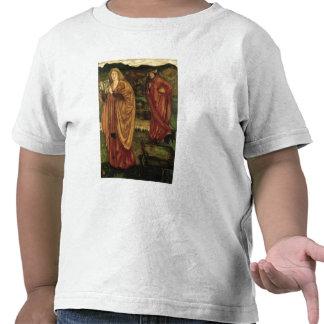 MERLIN y Nimue del d Arthur de Morte 1861 Camiseta
