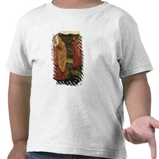 MERLIN y Nimue del d Arthur de Morte 1861 Camisetas