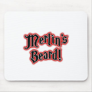 Merlin's Beard - Magic, Magician, Wizard Mouse Pad