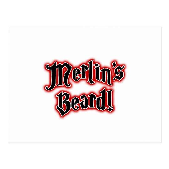 Merlin's Beard - Magic, Magician, Wizard Postcard