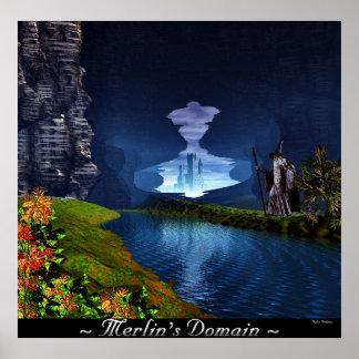 Merlin's Domain Poster