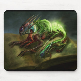 Merlin's Familiar Mouse Pad