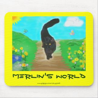 Merlin's World mousepad