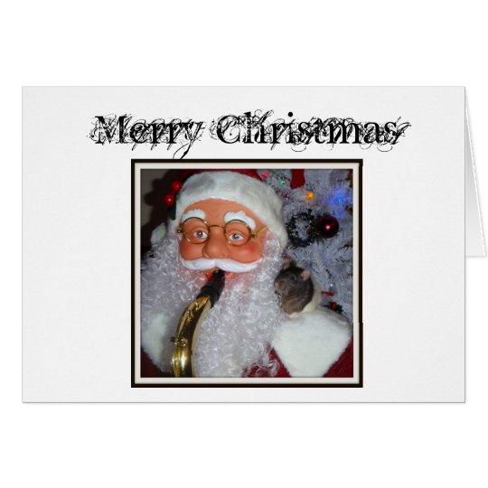 Merlinxmas, Merry Christmas Card