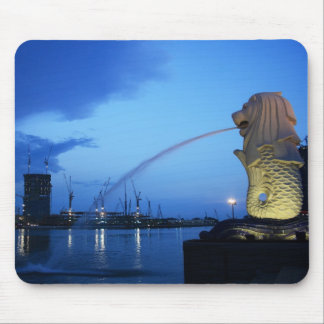 Merlion Mouse Pad