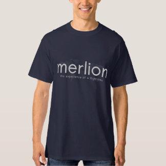 Merlion Navy Blue T-Shirt