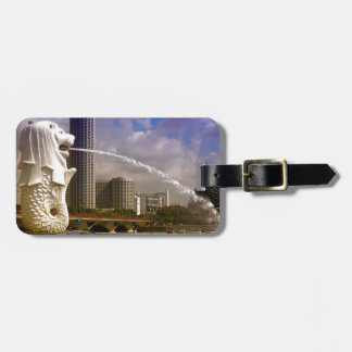 Merlion, Singapore Luggage Tag