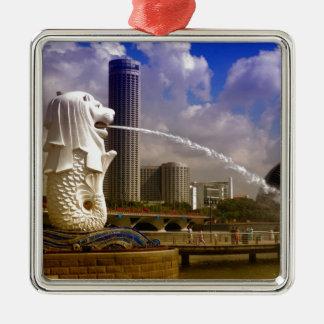 Merlion, Singapore Metal Ornament