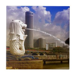 Merlion, Singapur Azulejo Cerámica