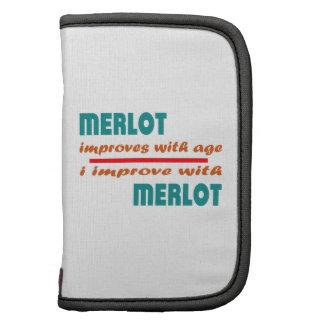 Merlot improves with age organizer