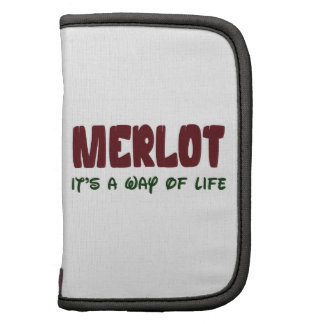 Merlot It's a way of life Planners
