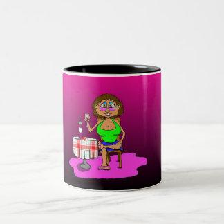 Merlot Lovin Gigi Two-Tone Coffee Mug