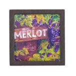 Merlot on the Vine Premium Keepsake Boxes
