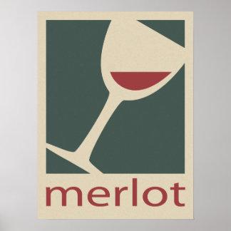 Merlot Poster
