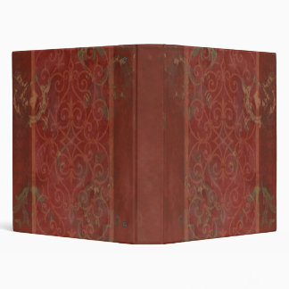 Merlot Scrollwork Binder/Album 3 Ring Binder
