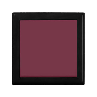 MERLOT (solid dark wine red color) ~ Keepsake Box