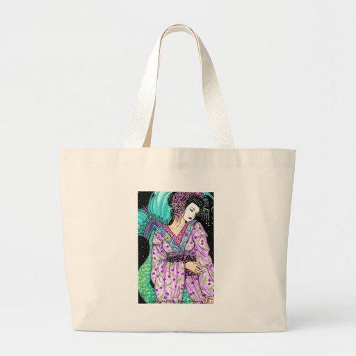 merm  NS GEISHA of the Sirens Canvas Bag