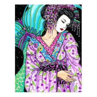 merm  NS GEISHA of the Sirens Postcard
