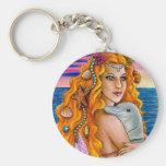 mermaid 13 Keychain