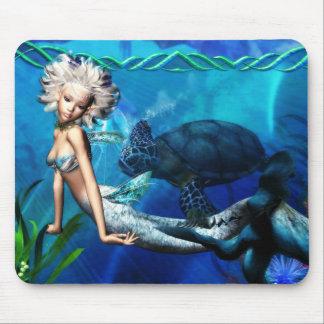 Mermaid 1 Mousepad