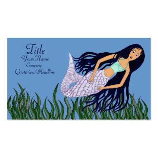 Mermaid 2 business card template