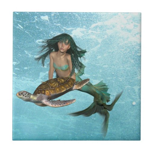 mermaid-55.jpg small square tile