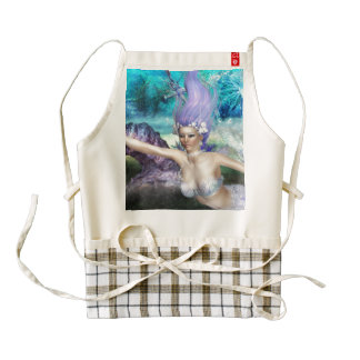 mermaid-78.jpg zazzle HEART apron