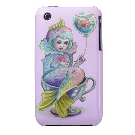 Mermaid Afloat Iphone case Case-Mate iPhone 3 Cases