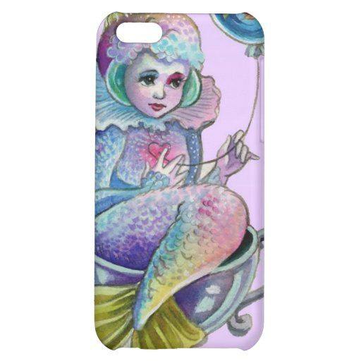 Mermaid Afloat Iphone case Cover For iPhone 5C